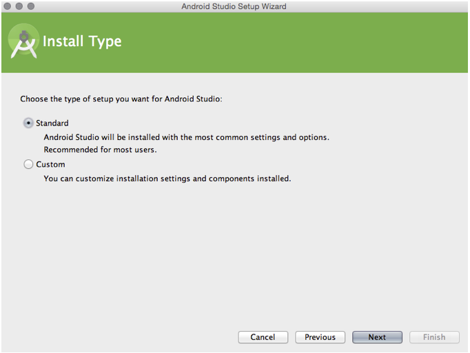 install type